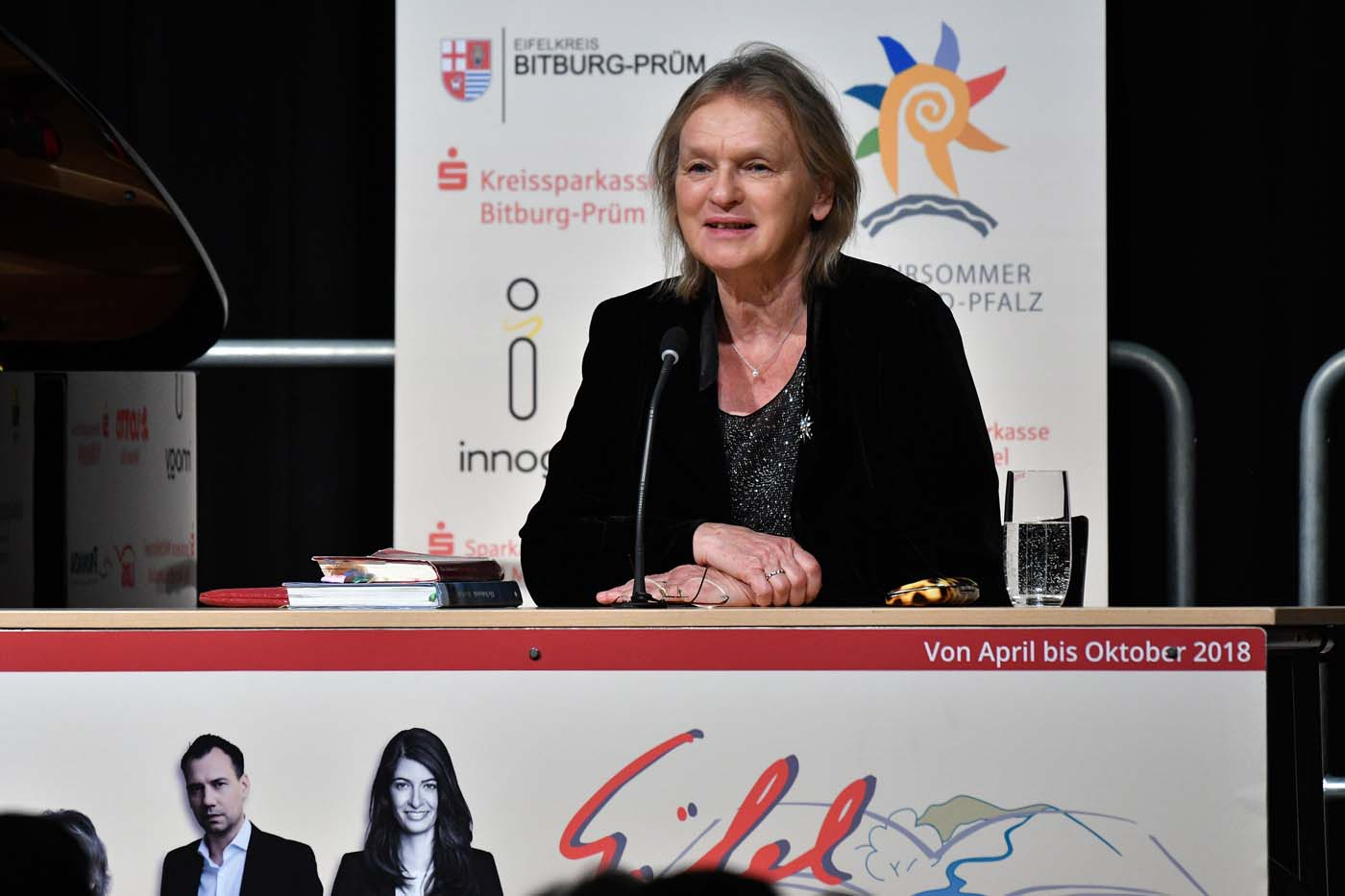 Elke Heidenreich am 27. April 2018 in Bitburg