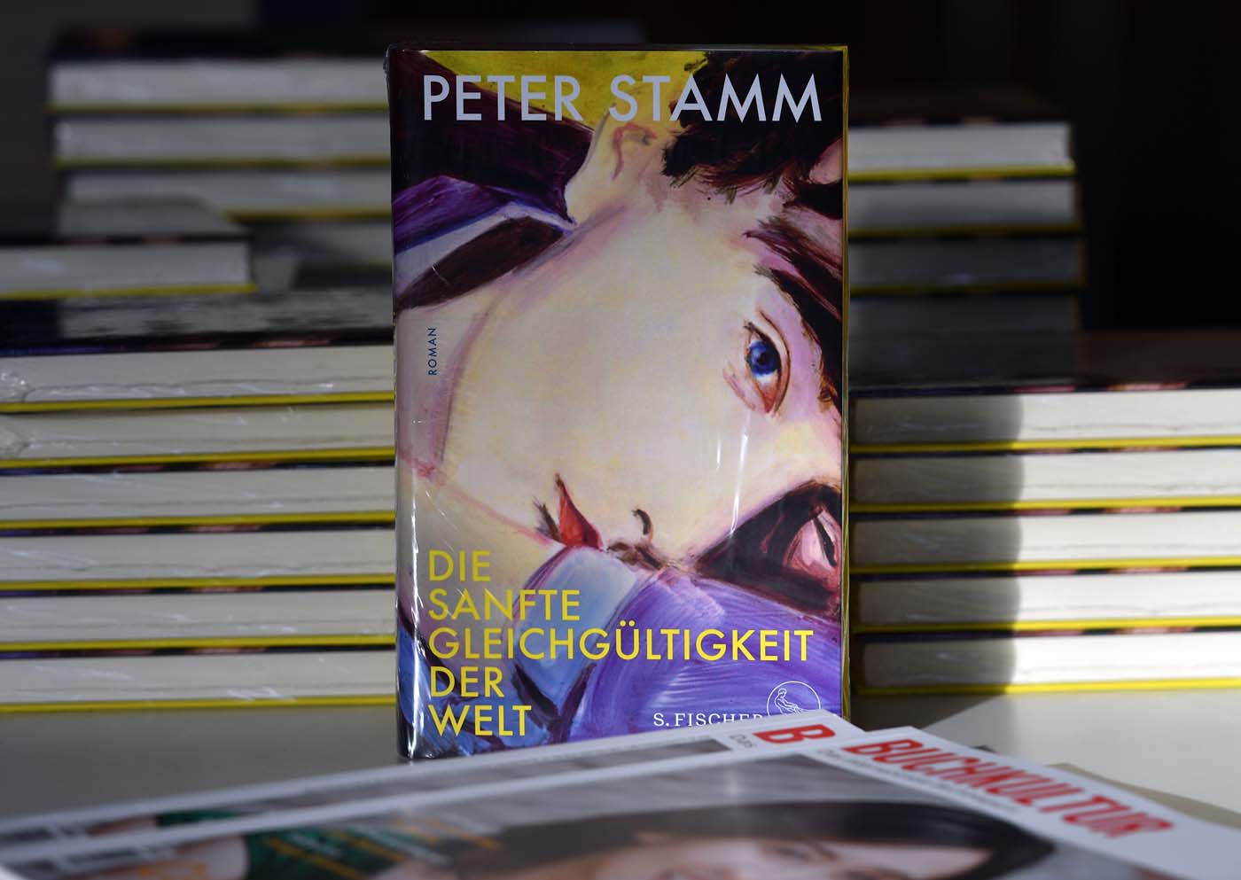 Peter Stamm am 1. Juni 2018 in Prüm