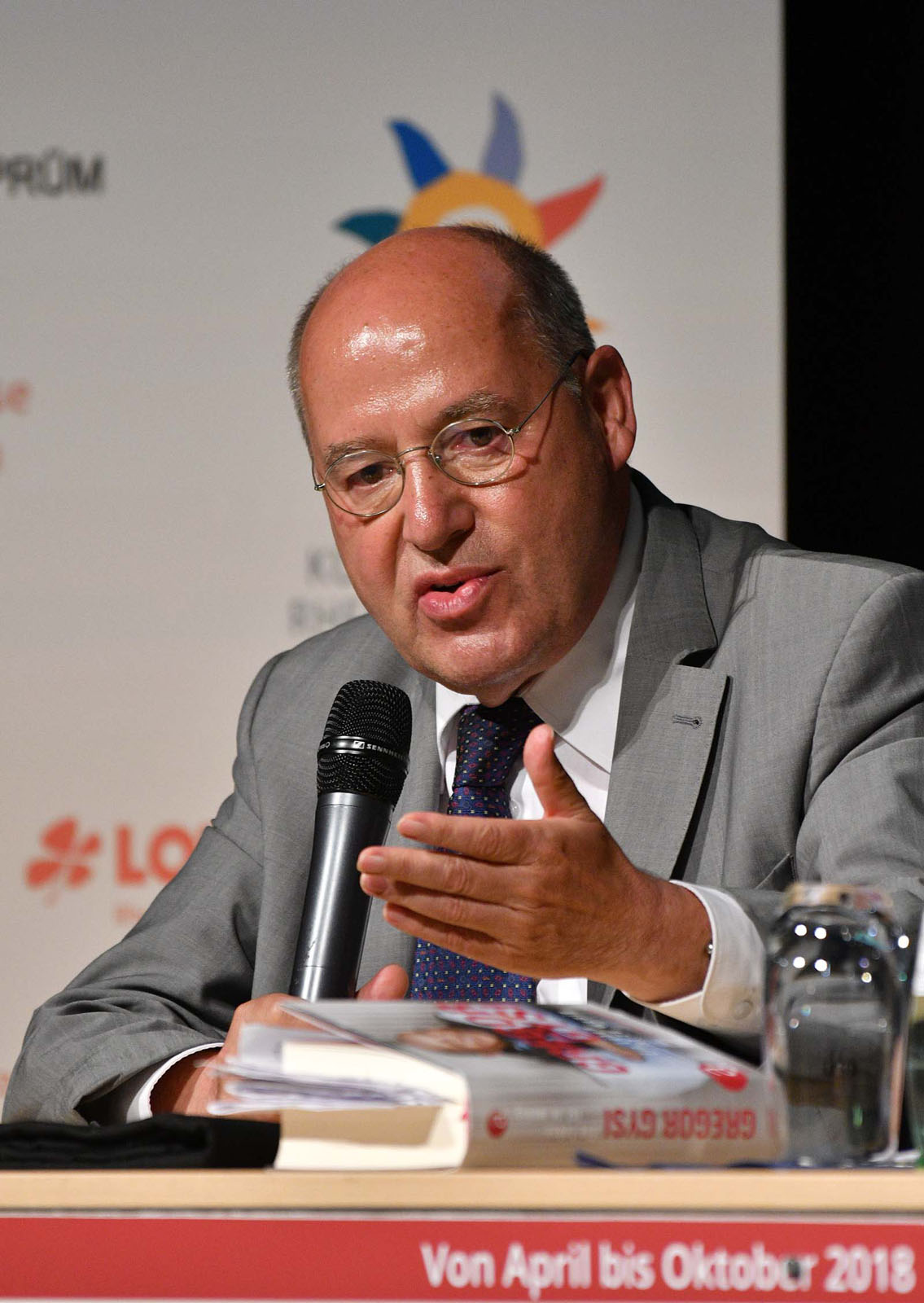 Gregor Gysi am 22. Juni 2018 in Bitburg