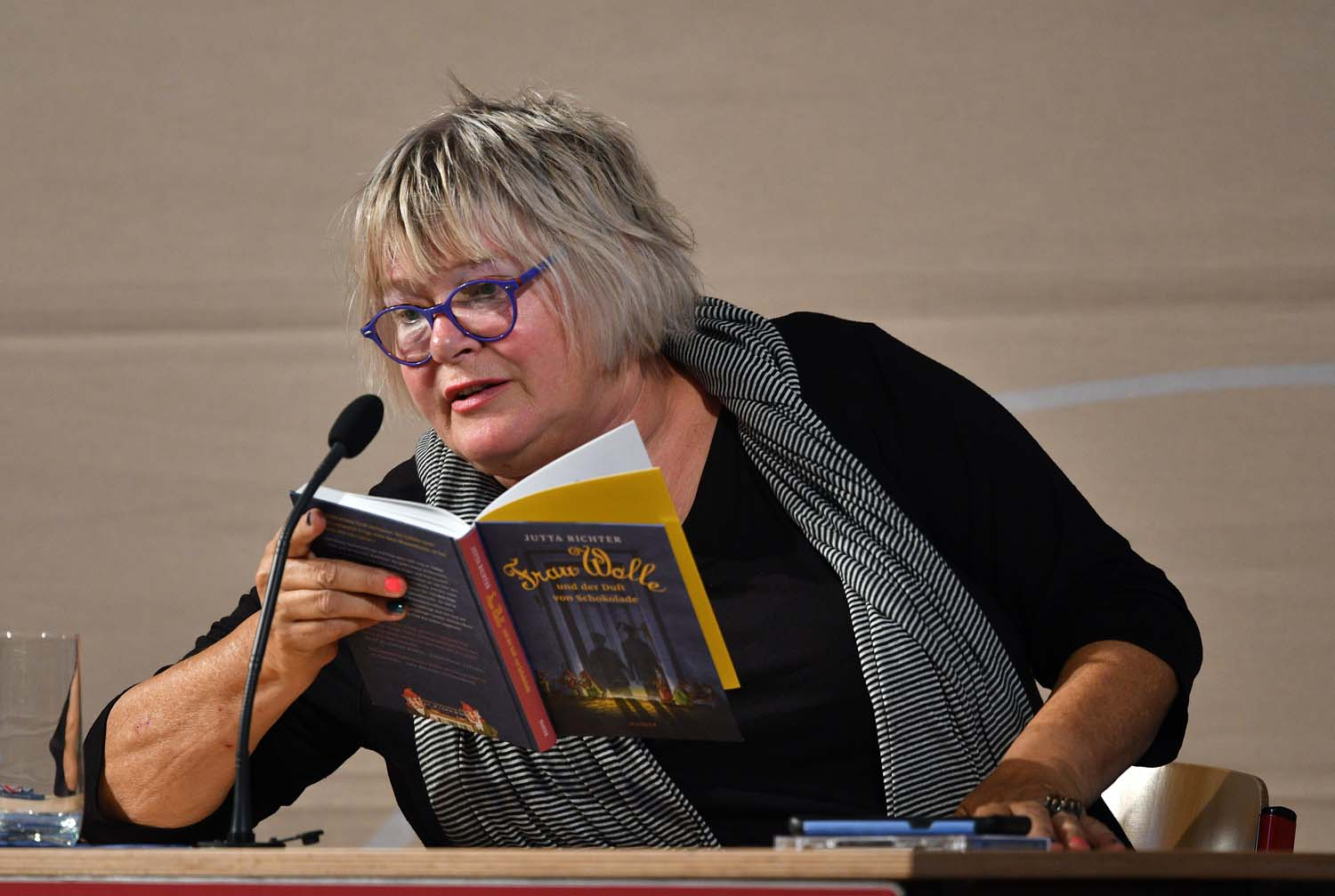 Jutta Richter am 21. September 2018 in Prüm