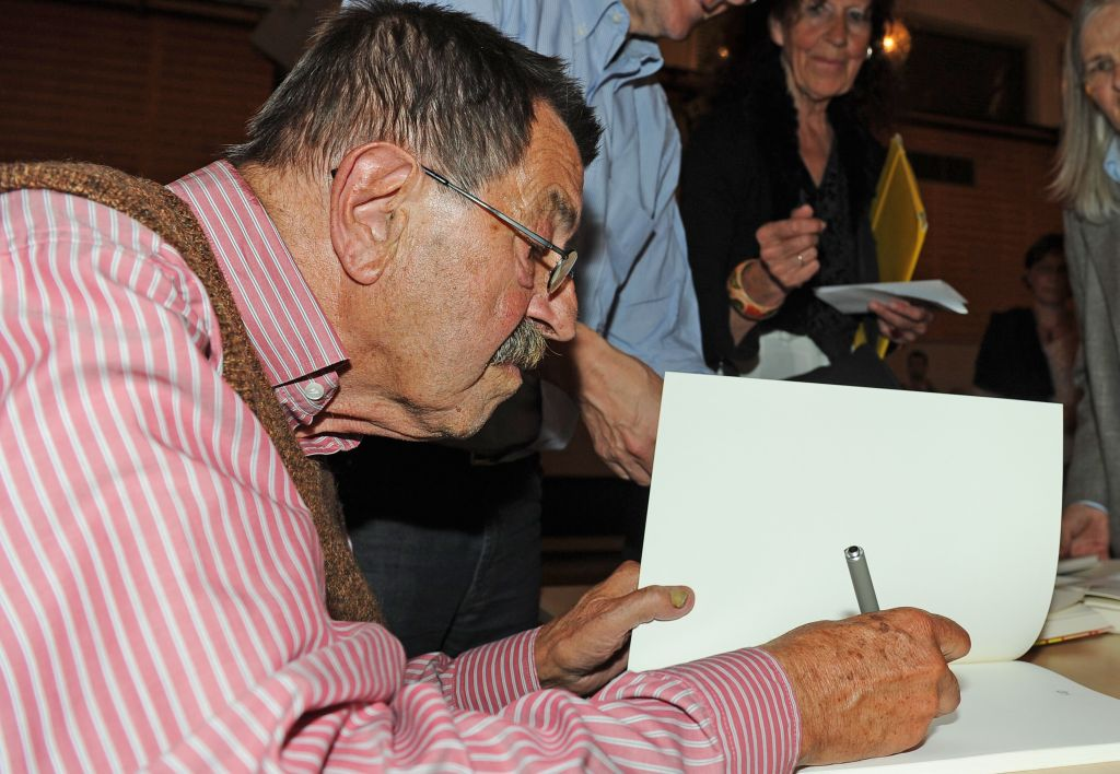 Günter Grass am 29. September 2011 in Prüm