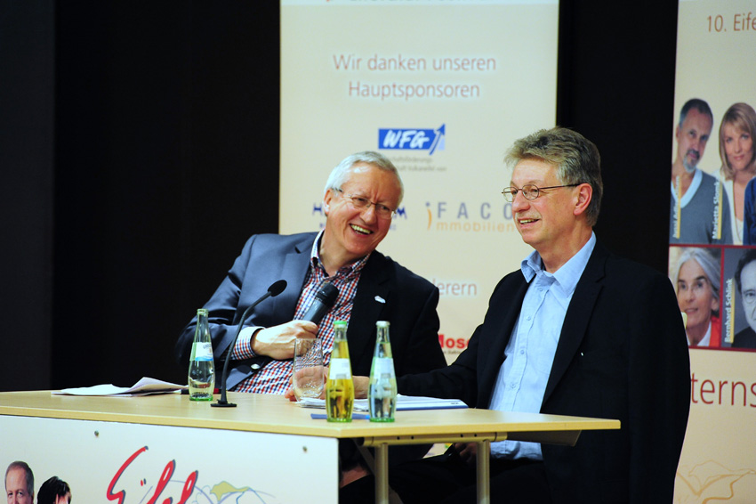 Reinhard Jirgl am 7.-September 2012 in Bitburg