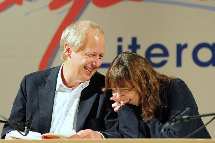 Tom Buhrow und Sabine Stamer am 15. September 2012 in Prüm